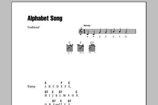 Alphabet Song sheet music