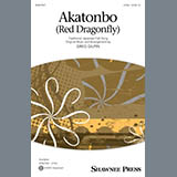 Download Traditional Japanese Folk Song Akatonbo (Red Dragonfly) (arr. Greg Gilpin) sheet music and printable PDF music notes
