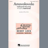 Download Traditional Zulu Dowry Song Amavolovolo (arr. Rudolf de Beer) sheet music and printable PDF music notes