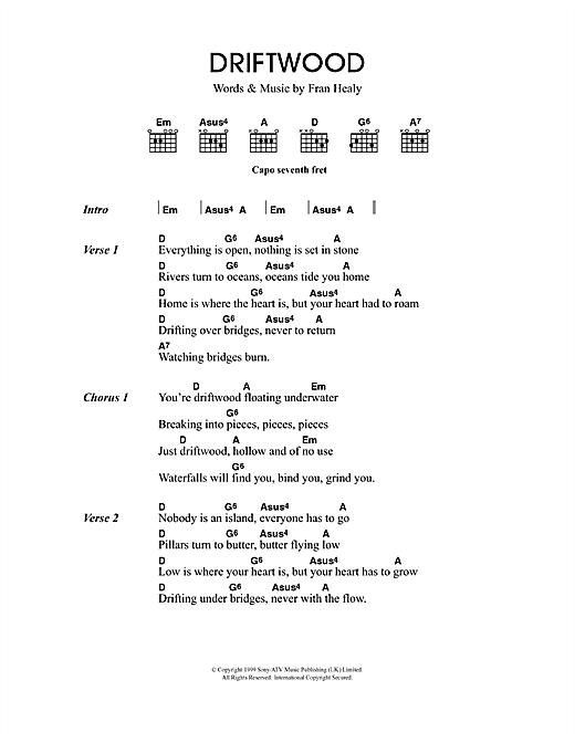 Driftwood sheet music