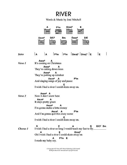 River sheet music