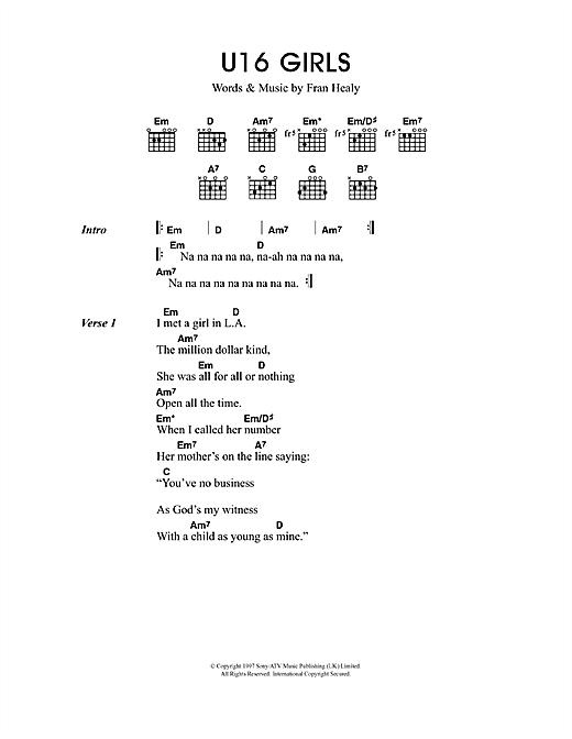 U16 Girls sheet music