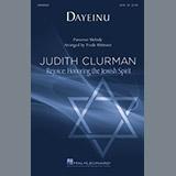 Download Trude Rittmann Dayeinu sheet music and printable PDF music notes