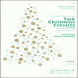 Download Arthur Frackenpohl 'Two Christmas Classics - Eb Baritone Saxophone' printable sheet music notes, Christmas chords, tabs PDF and learn this Woodwind Ensemble song in minutes