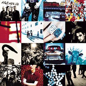 U2, Acrobat, Melody Line, Lyrics & Chords