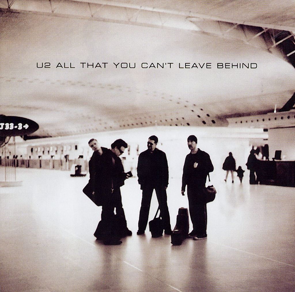 U2, The Ground Beneath Her Feet, Piano, Vocal & Guitar