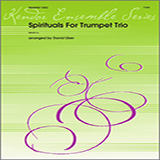 Download Uber Spirituals For Trumpet Trio - 1st Bb Trumpet sheet music and printable PDF music notes