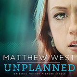 Download Matthew West 'Unplanned' printable sheet music notes, Film/TV chords, tabs PDF and learn this Piano, Vocal & Guitar (Right-Hand Melody) song in minutes
