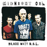 Download Midnight Oil 'US Forces' printable sheet music notes, Rock chords, tabs PDF and learn this Piano, Vocal & Guitar (Right-Hand Melody) song in minutes