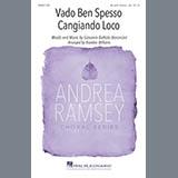 Download Giovanni Battista Bononcini Vado Ben Spesso Cangiando Loco (arr. Brandon Williams) sheet music and printable PDF music notes