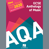 Download Various AQA GCSE Anthology Of Music: New Study Pieces from 2020 sheet music and printable PDF music notes