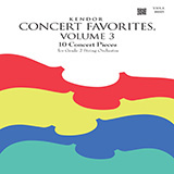 Download Various Kendor Concert Favorites, Volume 3 - Viola sheet music and printable PDF music notes
