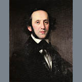 Download Felix Mendelssohn 'Venetian Boat Song, Op. 19, No. 6' printable sheet music notes, Classical chords, tabs PDF and learn this Educational Piano song in minutes