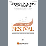 Download Victor C. Johnson When Music Sounds sheet music and printable PDF music notes