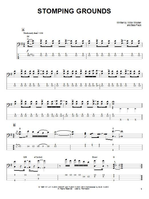 Stomping Grounds sheet music