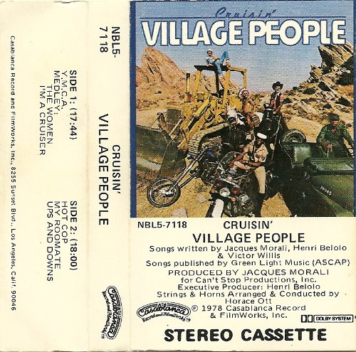 Village People, Y.M.C.A., Melody Line, Lyrics & Chords