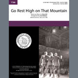 Download Vince Gill Go Rest High on That Mountain (arr. Jon Nicholas) sheet music and printable PDF music notes
