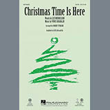 Download Vince Guaraldi Christmas Time Is Here (arr. Robert Sterling) sheet music and printable PDF music notes