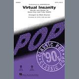 Download Jamiroquai Virtual Insanity (arr. Mark Brymer) - Trumpet 1 sheet music and printable PDF music notes
