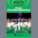 Download Paul Murtha Wavin' Flag - Quad Toms sheet music and printable PDF music notes