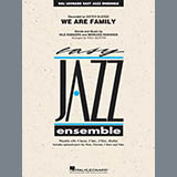 Download Paul Murtha 'We Are Family - Conductor Score (Full Score)' printable sheet music notes, Disco chords, tabs PDF and learn this Jazz Ensemble song in minutes
