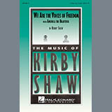 Download Kirby Shaw We Are The Voices Of Freedom - Tenor Sax sheet music and printable PDF music notes