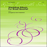 Download Kevin Kaisershot 'Wedding Album For Brass Quartet - Full Score' printable sheet music notes, Wedding chords, tabs PDF and learn this Brass Ensemble song in minutes