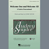Download Audrey Snyder Welcome One And Welcome All - A Festive Processional - C Instrument III sheet music and printable PDF music notes
