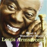Download Louis Armstrong 'What A Wonderful World' printable sheet music notes, Religious chords, tabs PDF and learn this Piano, Vocal & Guitar (Right-Hand Melody) song in minutes