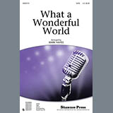 Download Mark Hayes What A Wonderful World - Harp sheet music and printable PDF music notes