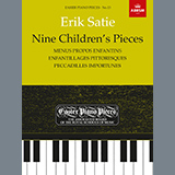 Download Erik Satie 'What the Little Princess Tulip Says (Grade Initial, list B9, from ABRSM Piano Syllabus 2021 & 2022)' printable sheet music notes, Classical chords, tabs PDF and learn this Piano Solo song in minutes
