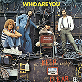 Download The Who Who Are You sheet music and printable PDF music notes