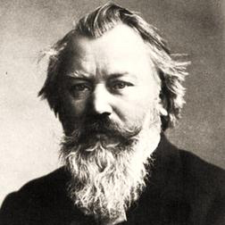 Download Johannes Brahms 'Wiegenlied (arr. Jon Washburn)' printable sheet music notes, Classical chords, tabs PDF and learn this Choral SSATB song in minutes