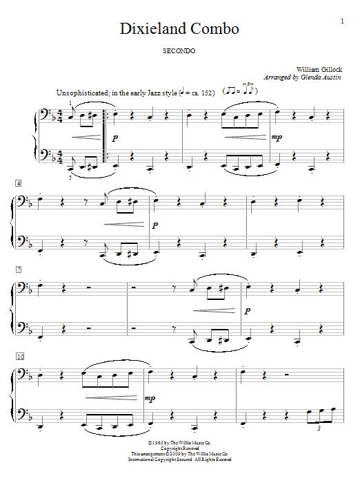 Dixieland Combo sheet music