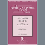 Download William Powell Non Nobis Domine sheet music and printable PDF music notes