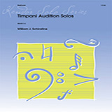 Download William Schinstine Timpani Audition Solos sheet music and printable PDF music notes