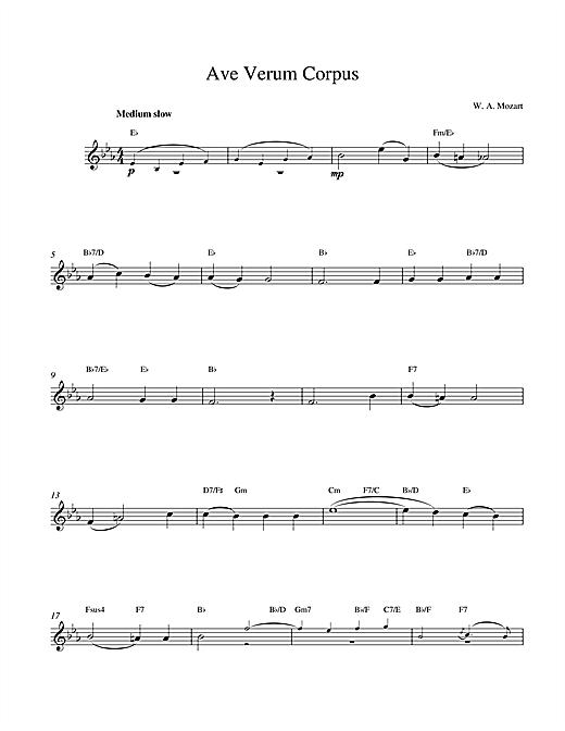 Avernum sheet music