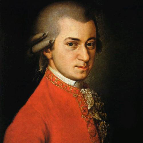 Wolfgang Amadeus Mozart, Last Movement Theme from Violin & Piano Sonata in Eb K481, Piano