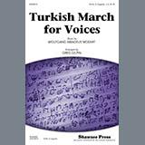 Download Wolfgang Amadeus Mozart Turkish March (arr. Greg Gilpin) sheet music and printable PDF music notes
