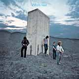 Download The Who Won't Get Fooled Again sheet music and printable PDF music notes
