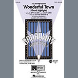 Download Leonard Bernstein 'Wonderful Town (Choral Highlights) (arr. John Purifoy)' printable sheet music notes, Broadway chords, tabs PDF and learn this SAB Choir song in minutes