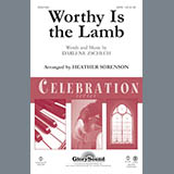 Download Heather Sorenson Worthy Is The Lamb - Violin 1 sheet music and printable PDF music notes