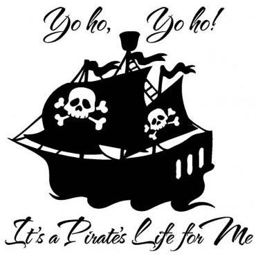 Xavier Atencio, Yo Ho (A Pirate's Life For Me), Piano, Vocal & Guitar (Right-Hand Melody)