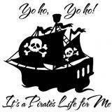 Download Xavier Atencio Yo Ho (A Pirate's Life For Me) sheet music and printable PDF music notes
