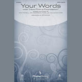 Download Third Day 'Your Words' printable sheet music notes, Religious chords, tabs PDF and learn this Piano, Vocal & Guitar (Right-Hand Melody) song in minutes