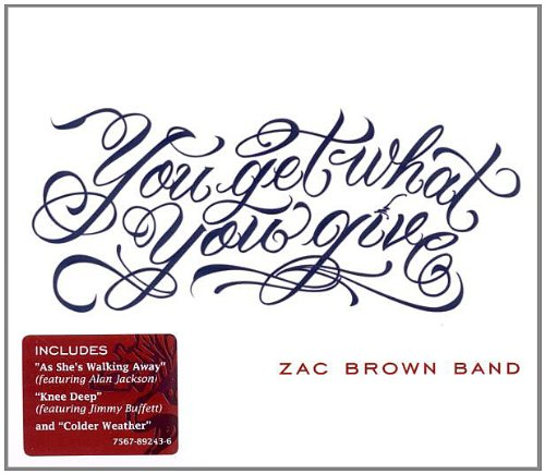 Zac Brown Band, Let It Go, Piano, Vocal & Guitar (Right-Hand Melody)