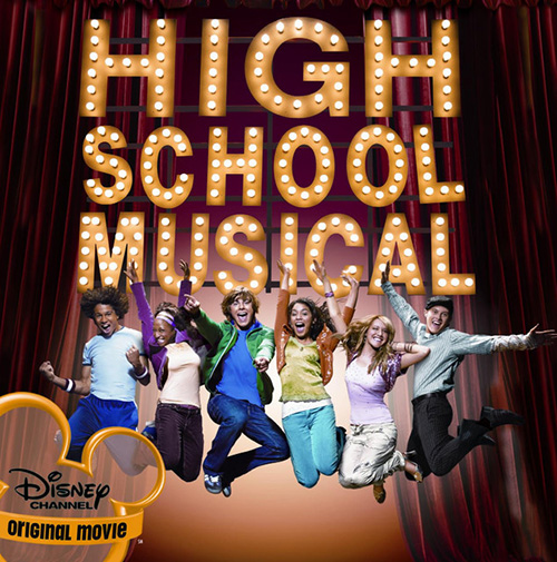 Zac Efron & Vanessa Hudgens, Breaking Free (from High School Musical), Alto Saxophone