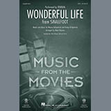 Download Zendaya Wonderful Life (from Smallfoot) (arr. Mark Brymer) sheet music and printable PDF music notes