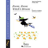 Download Nancy Faber 'Zoom, Zoom, Witch's Broom' printable sheet music notes, Children chords, tabs PDF and learn this Piano Adventures song in minutes